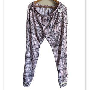Kensie Sleepwear Pants Women's Size L